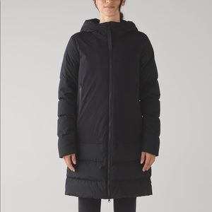 Lululemon Cold As Fluff Parka Black 8